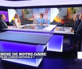 Replay Politique - Incendie de Notre-Dame : le temps de l'union nationale ?