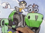 Replay 1, 2, 3... Coloriage ! | Rusty Rivets : inventeur en herbe | Vas-y Botosaure | Episode entier