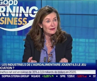 Replay Good Morning Business - Catherine Chapalin (ANIA): Loi Egalim, plus que quelques jours pour trouver un accord - 23/02