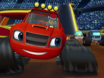 Replay Blaze et les Monster Machines - Le stand de hot dog