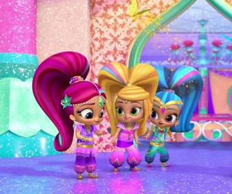 Replay Paillettes & Papillons - Shimmer & Shine