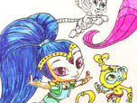 Replay 1, 2, 3... Coloriage ! | Shimmer & Shine | Vers le ciel | Episode entier