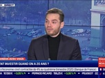 Replay 60 minutes Business - Comment investir quand on a 20 ans ? - 13/01