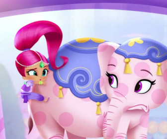Replay Shimmer & Shine - Le château gonflable - Shimmer et Shine