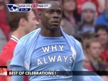 Replay Football - THE best of des célébrations ! : Premier League