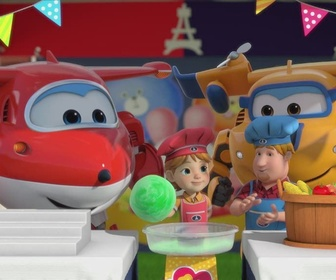 Super Wings replay