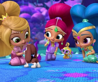Replay Le chien de Zac - Shimmer & Shine