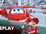 Replay Super Wings - ELe tournois de toupies