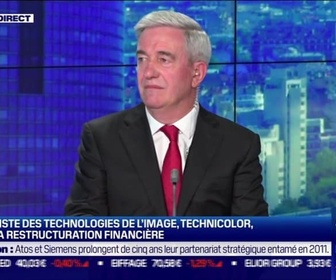 Replay Good Morning Business - Daniel Sauvaget (Ecomiam) : Technicolor finalise sa restructuration financière - 23/09