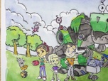 Replay 1, 2, 3... Coloriage ! | Rusty Rivets : inventeur en herbe | Photo de groupe | Episode entier