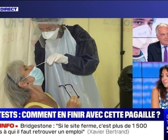 Replay BFM story - Story 3 : Tests anti-Covid, comment en finir avec cette grande pagaille ? - 16/09