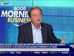 Replay Good Morning Business - Michel-Edouard Leclerc (E. Leclerc) : Le groupe a réalisé un CA de 38,8 milliards d'euros en 2019 - 01/10