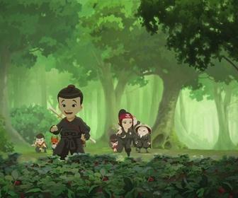 Replay Mini Ninjas - S02 E43 - Ninjas sous Cloche