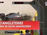Replay Le crash de Kevin Magnussen : Formule 1