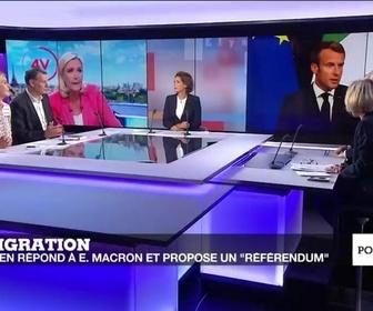 Replay Politique - L'immigration, enjeu de la fin du quinquennat d'Emmanuel Macron ?